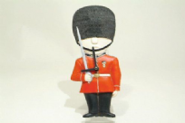 Red Great Britain Guardsman Wall Clock